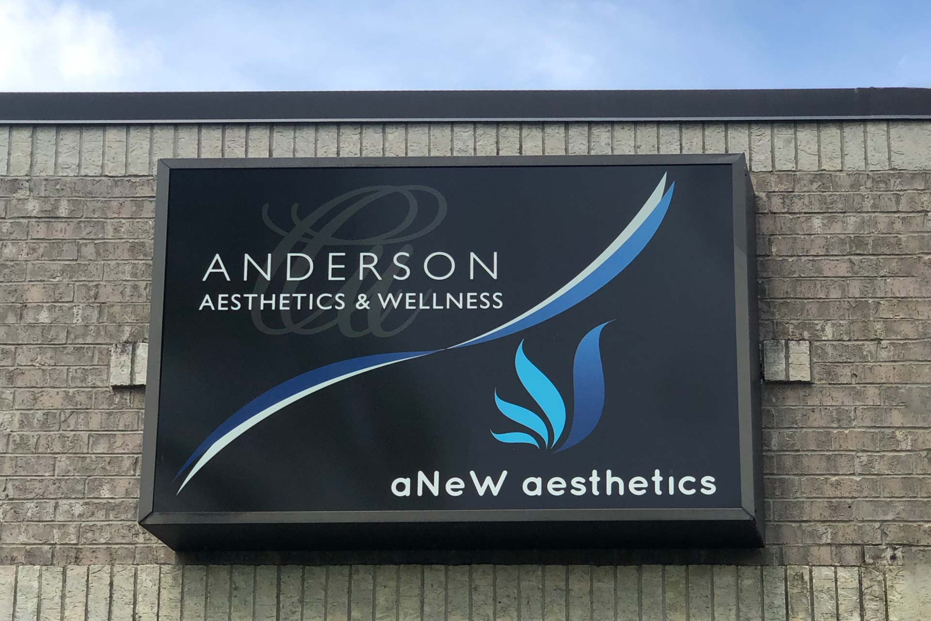 Anderson_Aesthetics_Wellness_exterior_location_sign